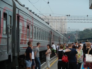 Transsibirische Eisenbahn 2013